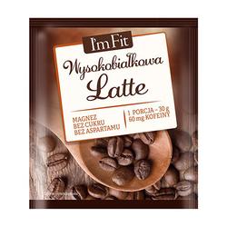 ActivLab Im Fit Wysokobiałkowa Kawa Latte 30g
