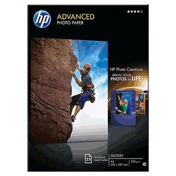 Papier fotograficzny HP Advanced, błyszczący — 25 ark.A4210 x 297 mm