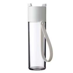 Butelka na wodę 500 ml biała Justwater Mepal