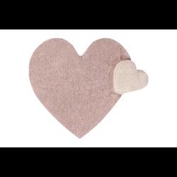 Dywan do prania w pralce PUFFY Love Nude
