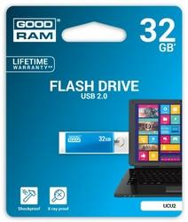 GOODRAM CUBE 32GB USB2 BLUE