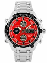 Męski zegarek PERFECT CARRERA zp121g - red