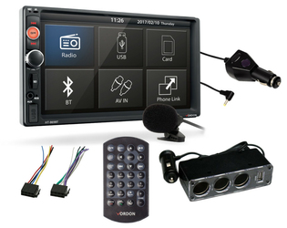 Radio samochodowe VORDON HT-869BT 2 DIN + GRATISY
