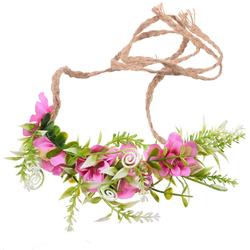 Stroik WIANEK do włosów KWIATY gałązki różowy - różowy