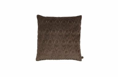 Be Pure :: Poduszka Peacock 50x50 cm - brązowa - brązowy