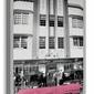Pink Cadillac - Obraz na płótnie