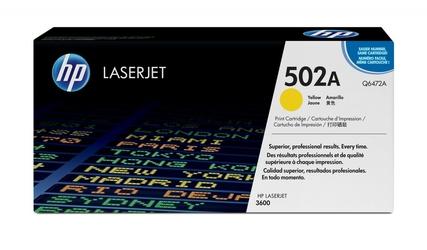 HP Toner 4k Q6472A ŻÓŁTY