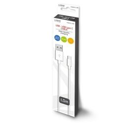 Elmak Kabel USB - USB typ C 2.1A, 1m SAVIO CL-125