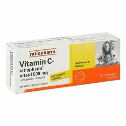 Witamina C Ratiopharm retard 500 mg kapsułki