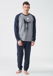 Key MNS 704 B8 piżama męska