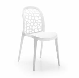 Krzesło RONIN 45x49 kolor biały - biały