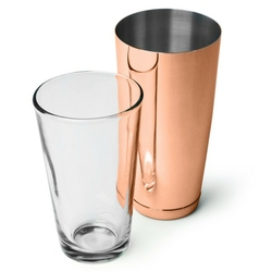 Shaker bostoński vintage kubek + szklanica