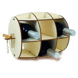 Stojak na wino beczka WineBarrel Invotis