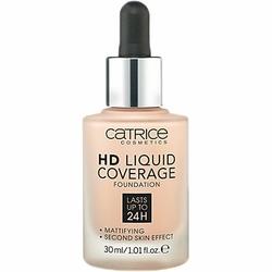 Catrice HD Liquid Coverage Foundation, podkład kryjący do twarzy 30ml 020 - Rose Beige