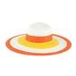 Kapelusz słoneczny orange - ORANGE