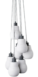 Its About RoMi :: Lampa betonowa CADIZ - Cadiz 7 kloszy