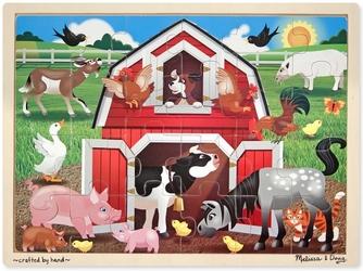 FARMA drewniane puzzle