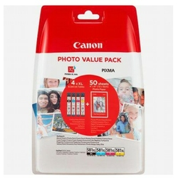 Tusze Oryginalne Canon CLI-581 XL CMYK 2052C004 czteropak - DARMOWA DOSTAWA w 24h