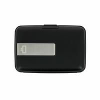 Portfel Aluminiowy Ogon Designs Stockholm Money Clip Black RFID protect