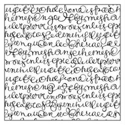 Stempel kauczukowy Stamperia - pismo italic - 112