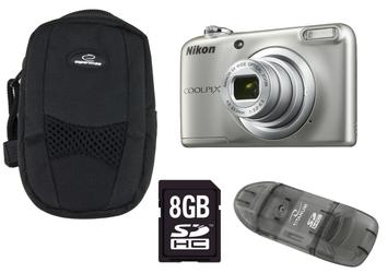Nikon Coolpix A10 +8GB +ETUI +CZYTNIK