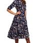 Sukienka rozkloszowana z dopasowaną górą model 2