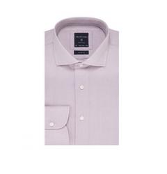 Elegancka liliowa koszula profuomo originale w mikrowzór 39