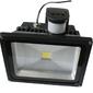 Lampa led 30w biała zimna model z czujnikiem ruchu: sl30wfl-cw halogen led, naświetlacz led sy