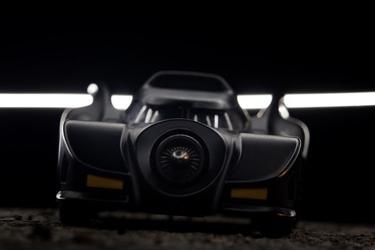 Batmobile ver2 - plakat wymiar do wyboru: 70x50 cm