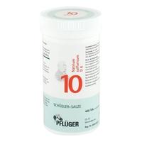 Biochemie pflueger 10 natrium sulfur. d6 tabletki