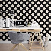 Grochy - tapeta na ścianę , rodzaj - próbka tapety 50x50cm