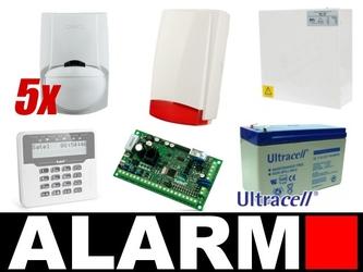 Alarm satel versa 5 lcd, 5xpir, syg.zew - szybka dostawa lub możliwość odbioru w 39 miastach