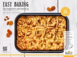 Tortownica prostokątna z wyjmowanym dnem easy baking birkmann 881 716