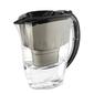 Dzbanek filtrujący wodę z wkładem aquaphor amethyst b100-25 maxfor czarny 2,8 l
