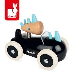 Drewniany samochód w stylu retro spirit rony, janod, 18 m+ - rony