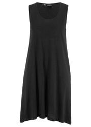 Sukienka na szerokich ramiączkach bonprix czarny