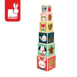 Piramida wieża drewniana Baby Forest