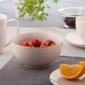 Salaterka  miseczka porcelana kremowa altom design bella złota linia 14 cm