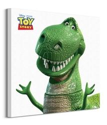 Toy story rex - obraz na płótnie