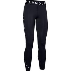 Legginsy damskie under armour favorite graphic legging - czarny