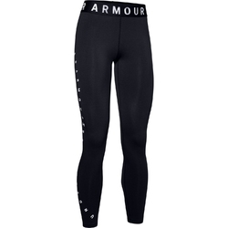Legginsy damskie under armour favorite graphic legging - czarny