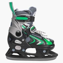 Łyżwy hokejowe 2w1 crosser zielony