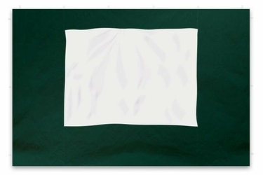 Ścianka 2szt. do pawilonu 3x3 m, 295215 cm,  zielona z oknem,