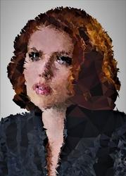 Polyamory - black widow, marvel - plakat wymiar do wyboru: 30x40 cm