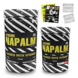 Fitness authority xtreme napalm with vitargo - 1000 g + 500 g 1,5 kg + gazeta + próbki