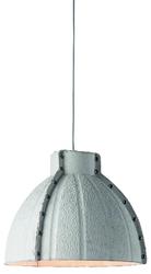 Goodmojo lampa wisząca yellowstone masa papierowa 40x37cm okrągły, jasnoszary yellowstonehlg