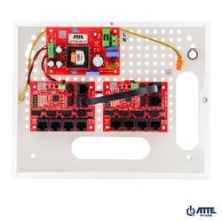 Zestaw do 9 kamer ip switch poe 9p+1up atte ip-9-11-e - szybka dostawa lub możliwość odbioru w 39 miastach