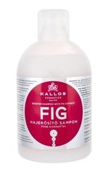 Kallos cosmetics fig odżywczy szampon do włosów osłabionych i zniszczonych dla kobiet 1000ml