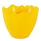 Doniczka skorupka 6 cm - żółta