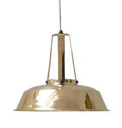 HK Living :: Lampa WORKSHOP L Ø42cm - mosiężny